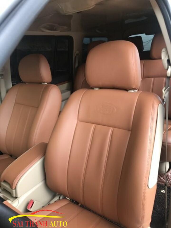 Bọc ghế da ô tô tại quận Bình Tân 2018