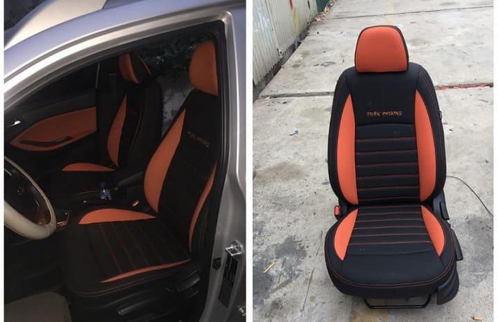 bọc ghế da ô tô hyundai i20