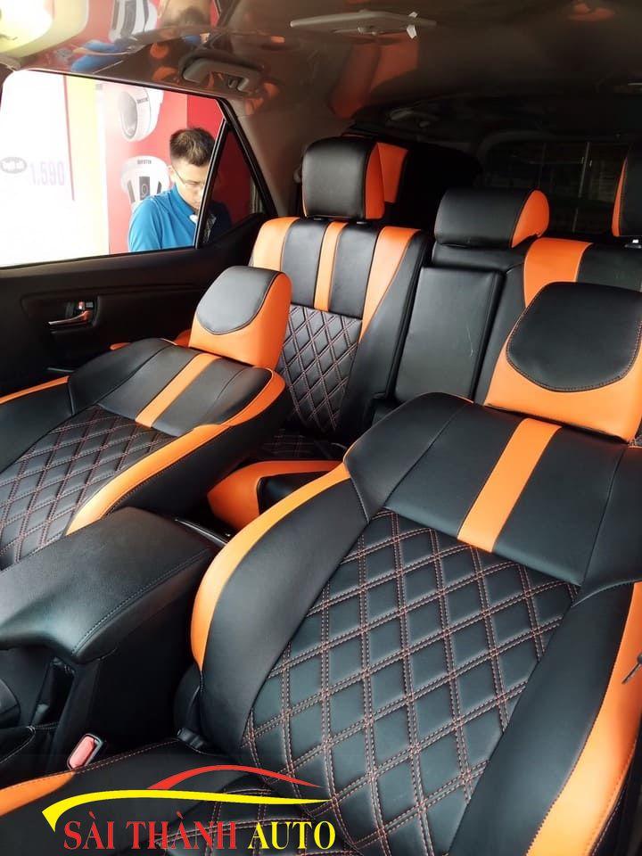 bọc ghế da ô tô tại Củ chi 1234