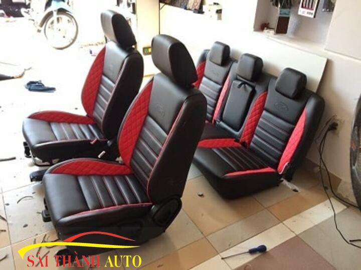 bọc ghế da ô tô xe 7 chỗ tại tphcm 123