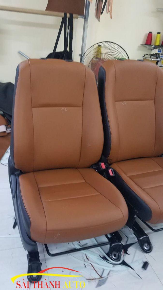 bọc ghế da ô tô innova tại sài thành auto
