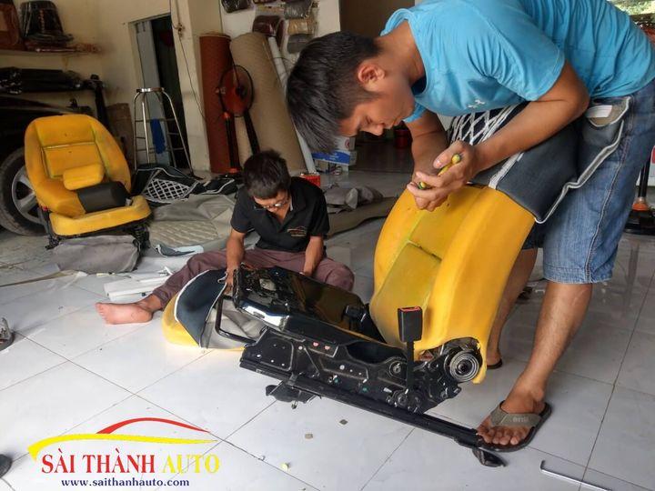 bọc ghế da ô tô tại Tân Bình giá rẻ